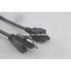 Laptop computer US standard AC power cord with UL certification Made in China