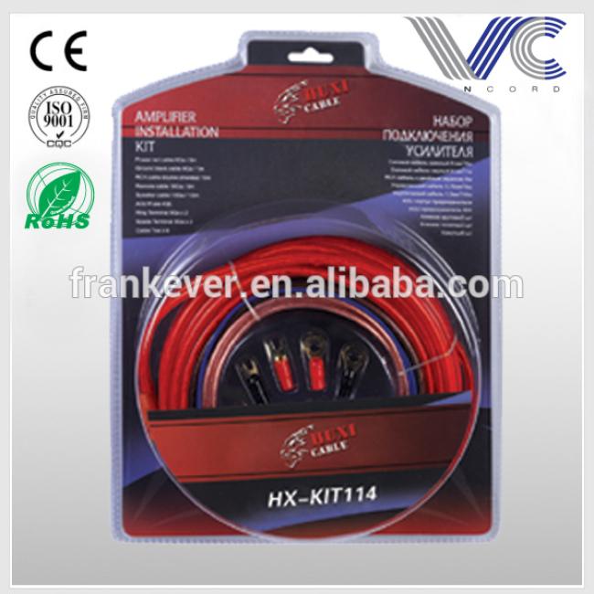 8ga car amplifier wiring kit high quality car amplifier installation wiring kit