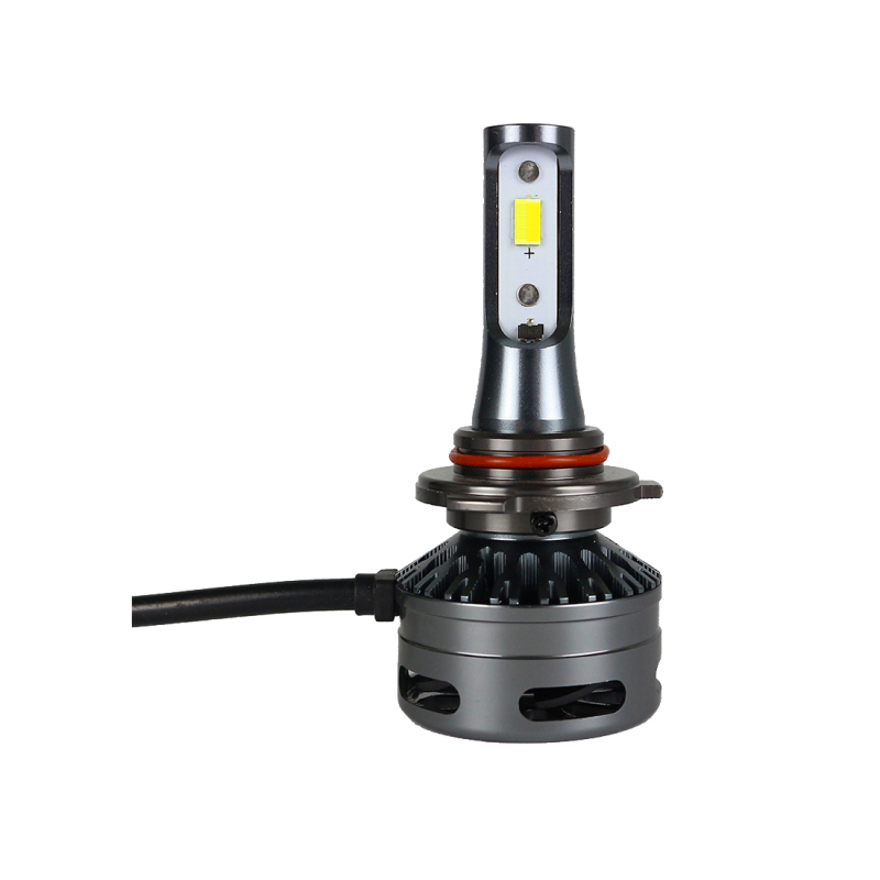Tri-color E9 LED Headlight H1 H7 H8/H11 9005/9006 9012 Three Color Five Function Car Headlight 3300K 5500K 6K