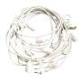 EU plug 220V String Lights for Backyard Patio Lights Decorative Outdoor Garland Vintage Bistro Wedding