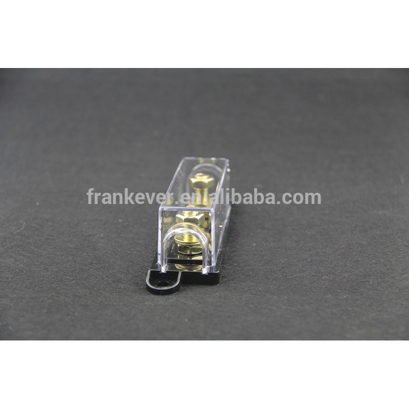 High quality Gold Plated ANL Fuse Block for car