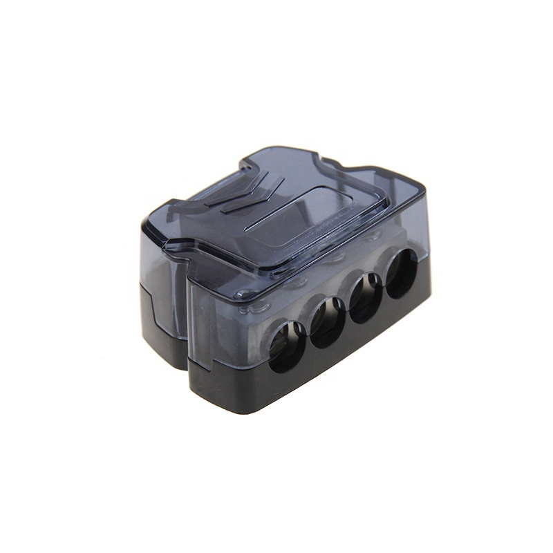 High quality Frosted Nickle plated Car Fuse block Power Distribution Block