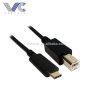 USB 2.0 Type C Male to Micro USB Male USB Cable PVC Jacket