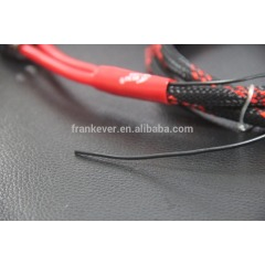 New developed 2-Male to 2-Male RCA Audio Cable with ground wire Made in China