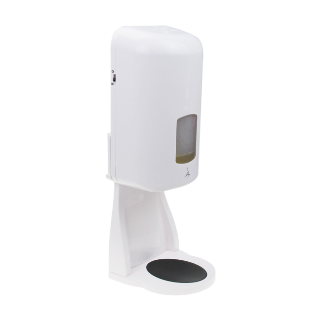 Hotel Kitchen Automatic Electric Hand Sanitizer Wall Mounted Soap Dispenser