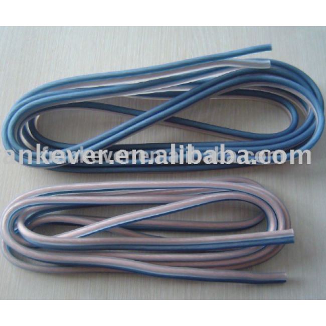 10AWG/4.0mm2 Copper Soft Frosted Transparent Speaker Cable