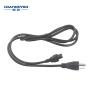 IEC320 C5 to NEMA 5-15P AC Power Cord for Laptop Power cord extension Cloverleaf laptop power cord