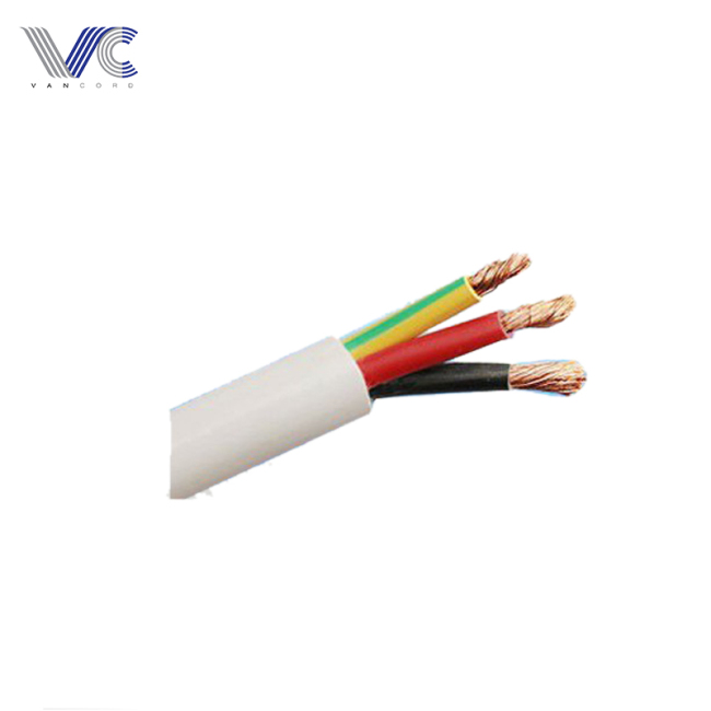 flexible conductor power cable 5.4mm armoured 3 cores power cable