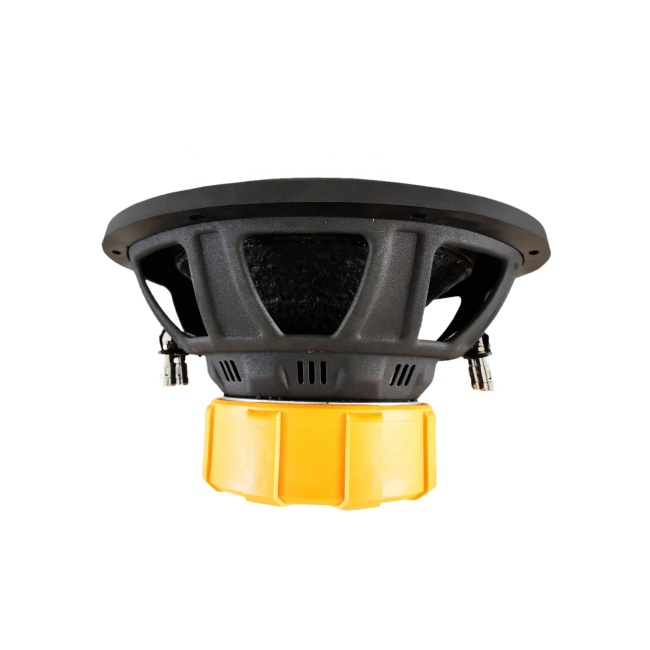 Iron basket 10inch 2+2 Ohm car speakers subwoofer 2.5