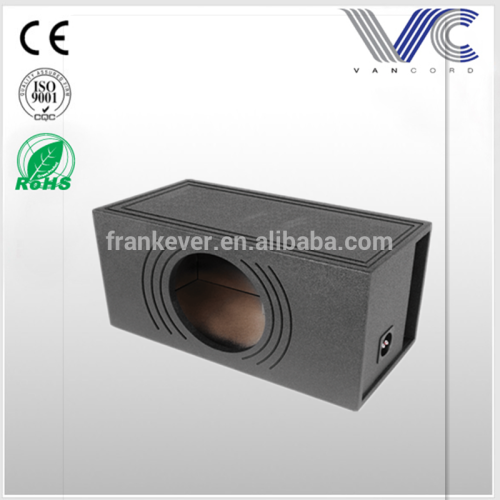 Coated 15 inch Single Vented car speaker box subwoofer box Made in China