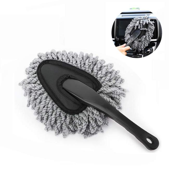 Easy use Handle Exterior Or Interior Use Microfiber Multipurpose Duster Car Wash Brush