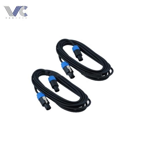 4 Speaker to Speaker 16 Gauge XLR/DJ cable audio cable