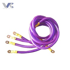 price car power cable 4awg car audio cable ring terminal made in china