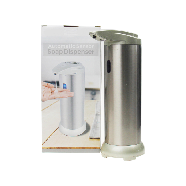 Automatic Four Gears Adjust Liquid Output Touch-Free Stainless Steel Liquid Soap Dispenser