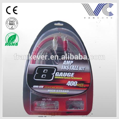 High Performance Electric Car Amplifier Wiring Kit