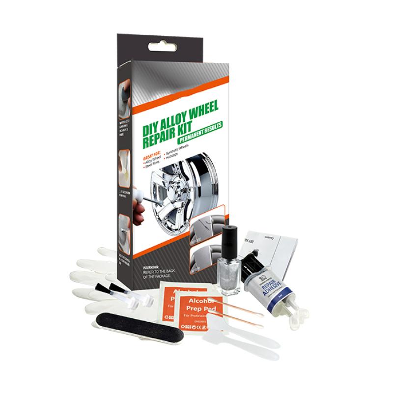 Color Box-Wheel Scratch Repair Tools DIY Alloy Wheel Repair Kit
