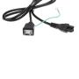 5ft 0.75MM2 Japan power cord-PSE japan plug to IEC320 C5-0.75mm2 power cable-PSE plug to IEC320 C5 Extension Cord
