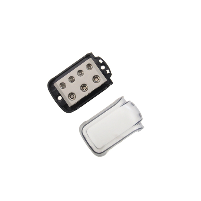 Zinc alloy and PC 3*0/4GA IN & 4*4/8GA OUT Auto Fuse block Power Distribution Block