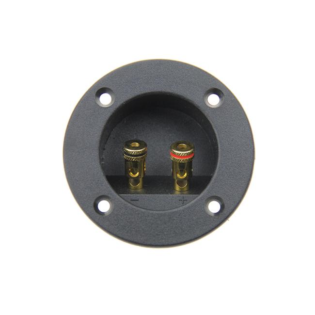 ABS speaker terminal plate Zinc Alloy  speaker terminal block speaker terminal cup