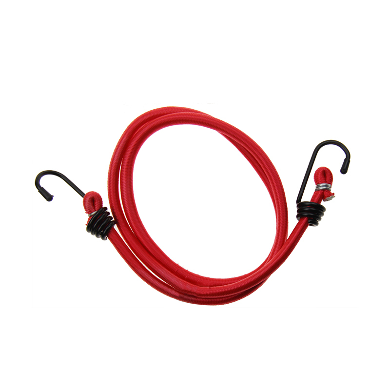 Durable Rubber bungee cords 8mm luggage bungee cord with iron hook