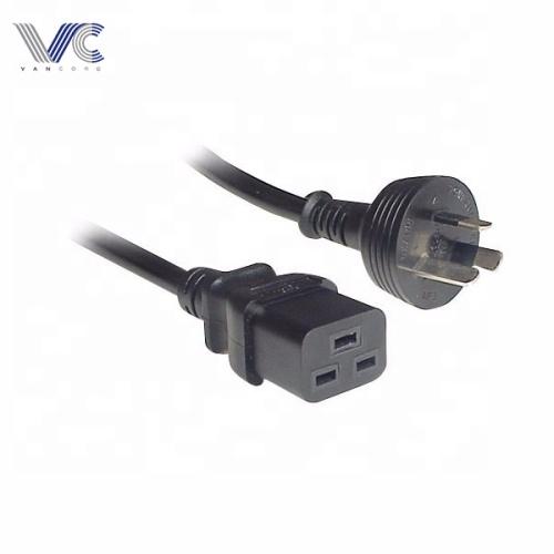 IEC-C19 to 3PIN Australia 15 Amp Power Cord