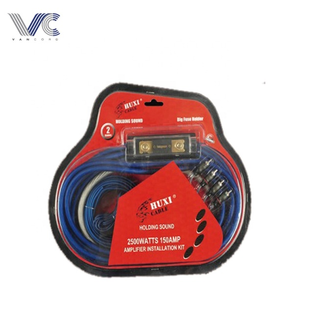 4 gauge high performance amp wiring kit /car audio power cable