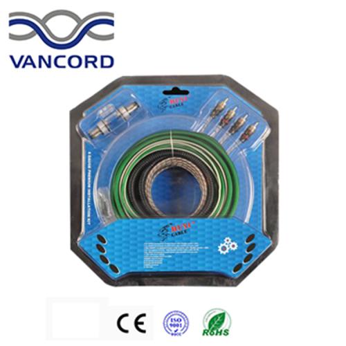 8 gauge car amplifier cable kit /car audio cable kit