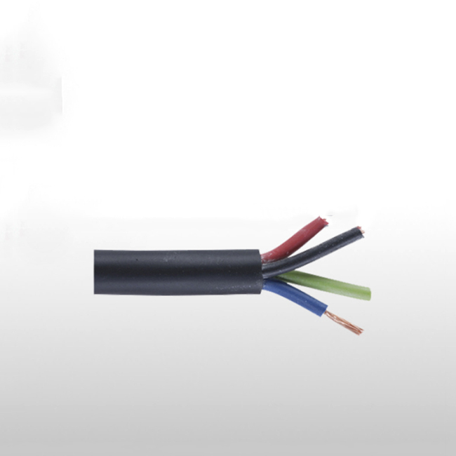 4 core flexible cable electric wires electrical wiring