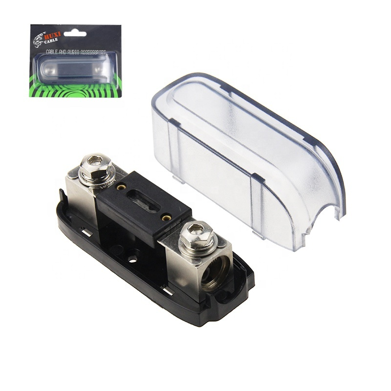 0/4 Gauge AWG In-Line ANL Car Fuse Holder with 300 Amp Fuse