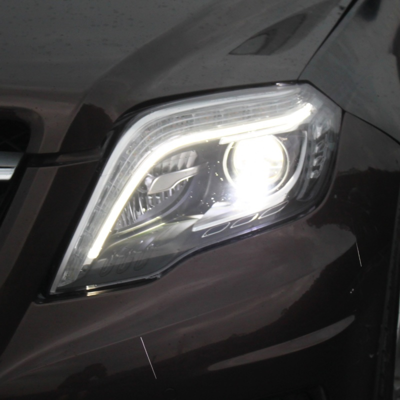 Full LED Car headlamp assembly for 13-15 Model Mercedes-benz GLK ,Headlights assembly