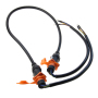 250V Outdoor IP65 waterproof powercon cable wire for LED screen,LED display,stage