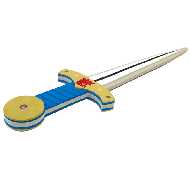 multicolor kids cheap eva foam toys sword