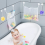 Mesh  Bath Toy Organizer with suction cups