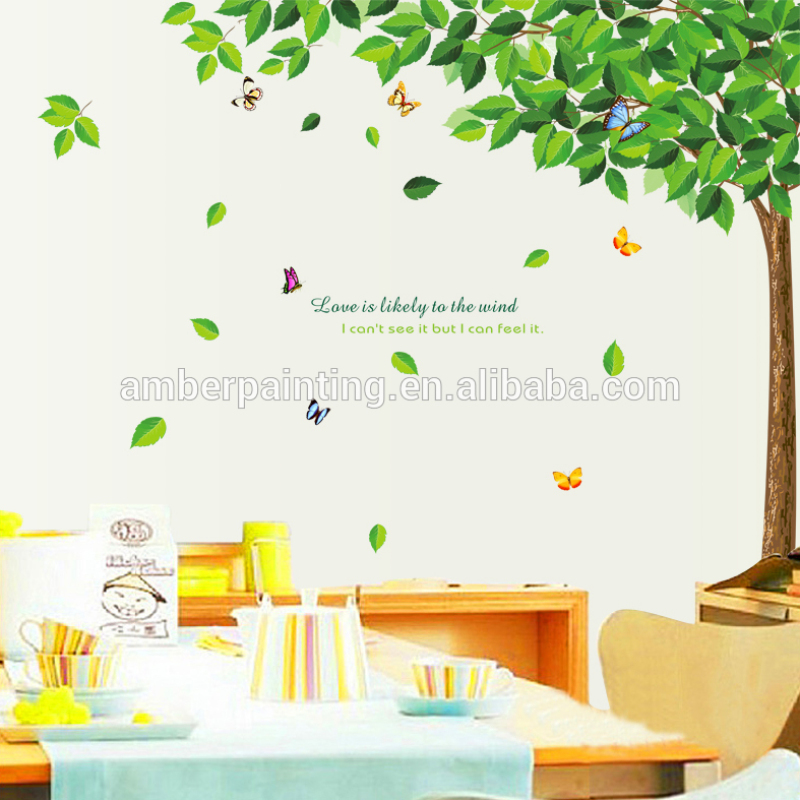 children Family removable wall sticker tree girl wall decal stickers