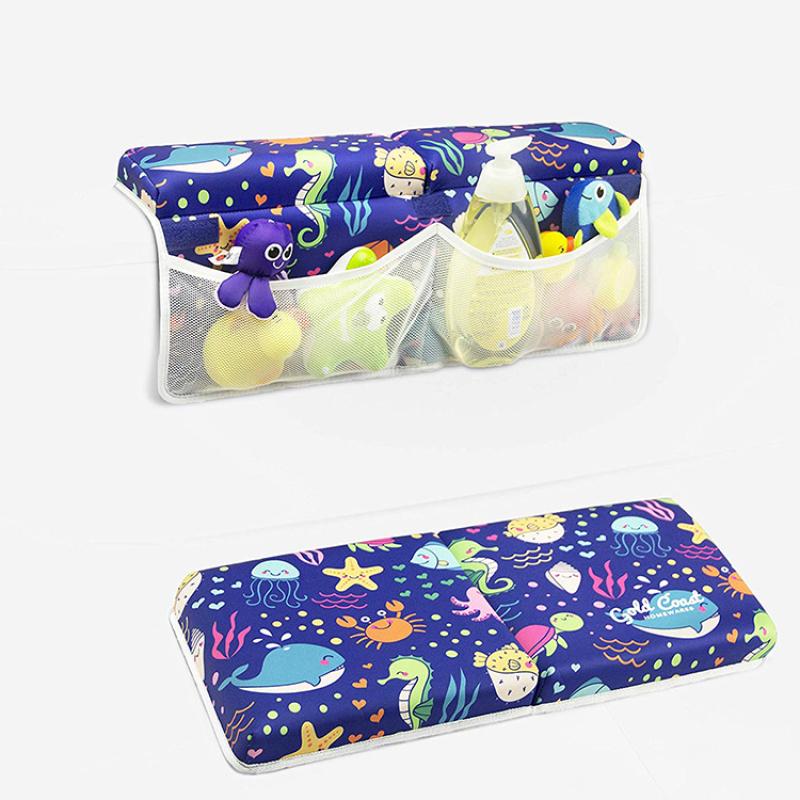 Non-slip baby bath tub kneeling pad mat