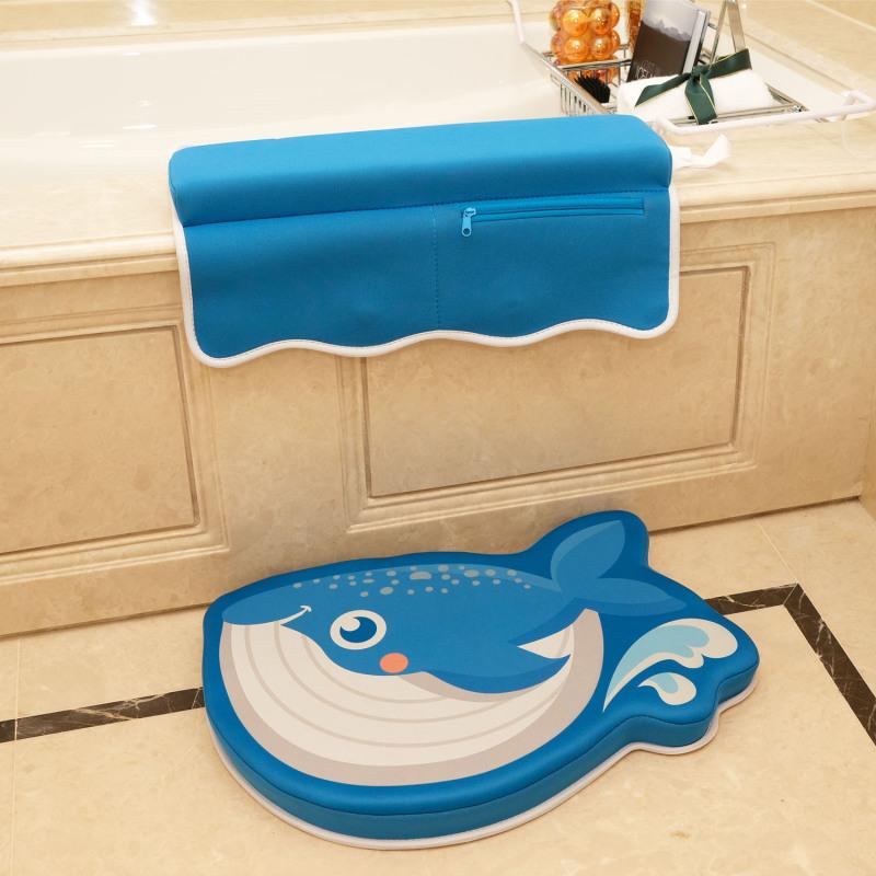 Factory Wholesale Custom Neoprene Bath Kneeler and Elbow Rests Mat