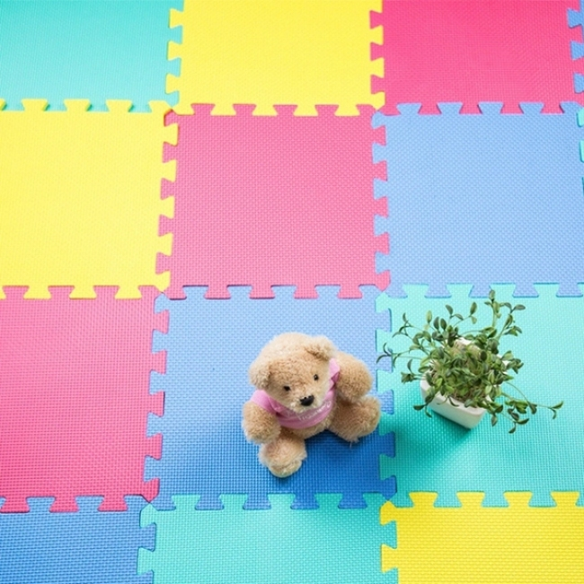 Custom colorful tatami puzzle mat eva foam mat for kids