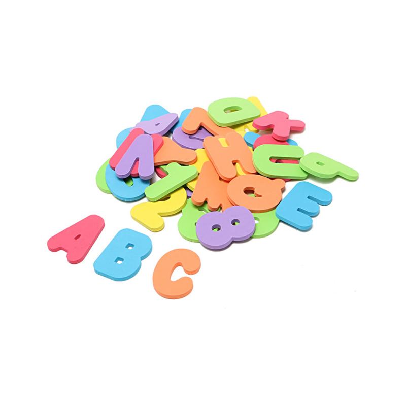 Alphabet eva letter number tub town baby bath toy with bath toy organizer 3year old bath toys