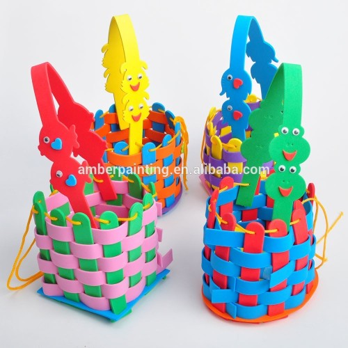 baby education colorful diy foam toys bag for kids