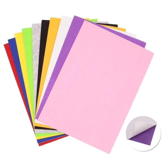 Customized size self adhesive multicolor EVA foam sheet hand made gift craft