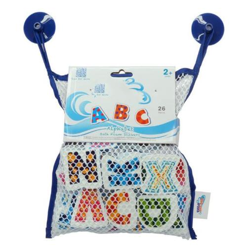 Bathroom toy small animal vehicle foam bath toys for baby education bath toy for boys bath toy foam