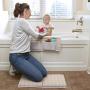New design neoprene light color bath kneeler and elbow rest pad set