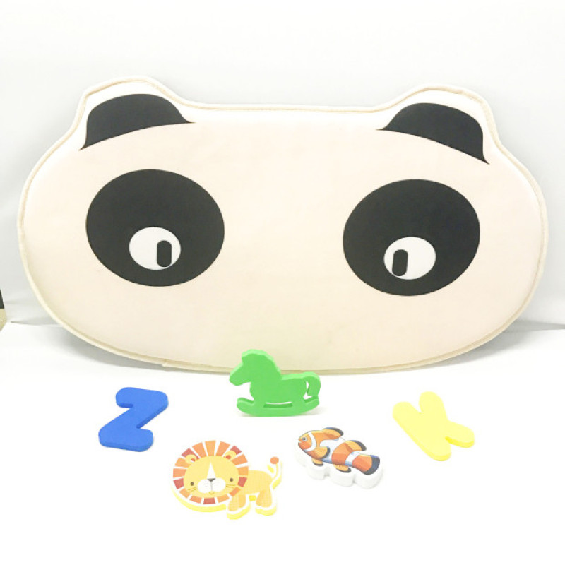 A313 New design neoprene cartoon printing baby bath mat
