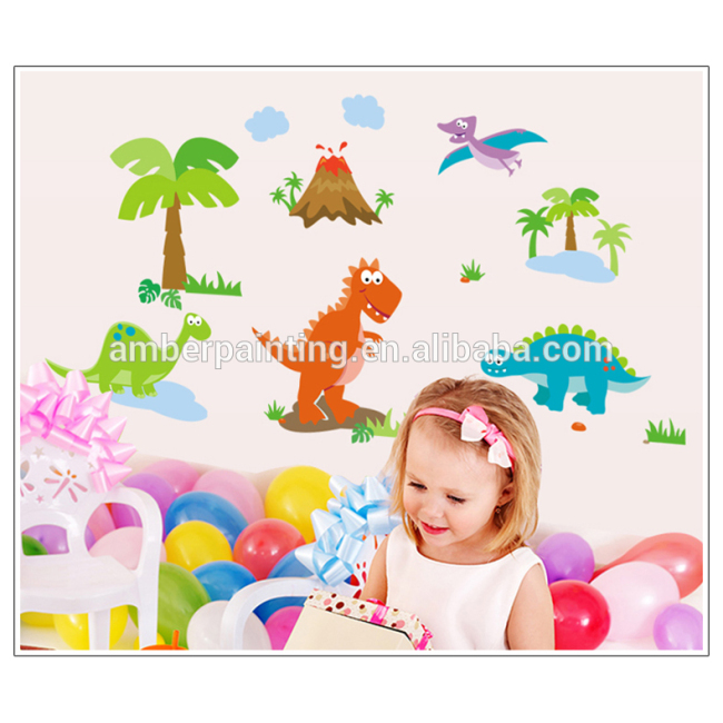 wallpaper stickers for walls dinosaur removable wall sticker