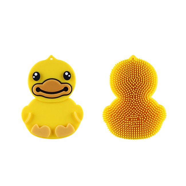 Silicone bath body Brush for kids