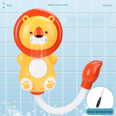 Animal electric shower assist baby in bathing toddler bath swimming toys  splash bath toy