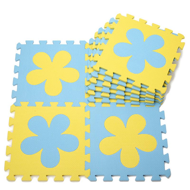 Melors colorful kids play mat educational eva foam jigsaw puzzle mat