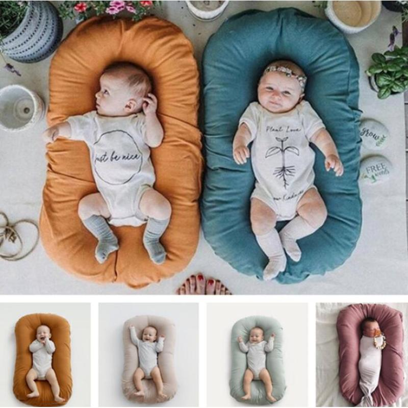 Custom high quality customized  portable Infant Cribs baby nest set newborn baby nest cover