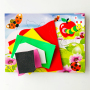 creative animal pattern adhesive handmade eva foam stickers