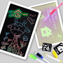 Drawing board for kids with lights      led lighted drawing board    drawing board book